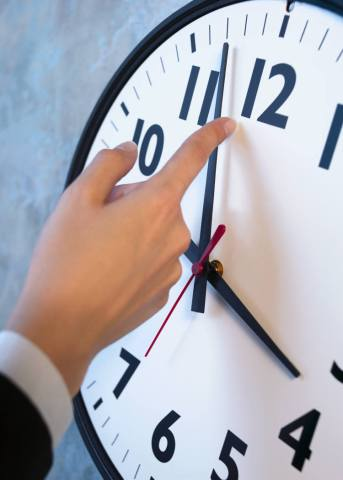 An extra hour to sleep